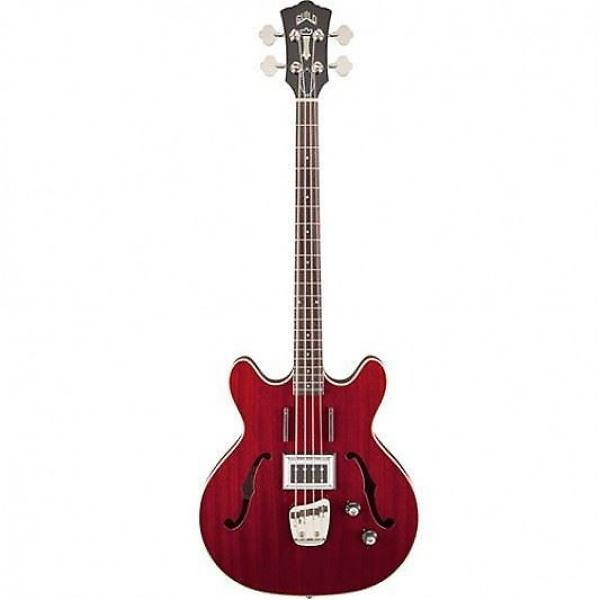 Custom Guild Newark St. Collection Starfire Bass Cherry 379-2400-866 #1 image