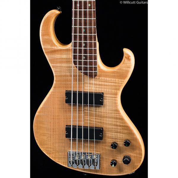 Custom Rick Turner Electroline Bass 5-String Natural Maple (423) #1 image