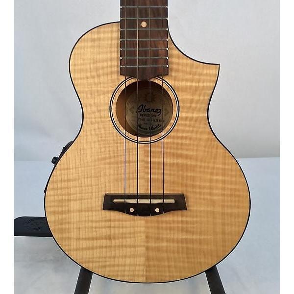 Custom Ibanez UEW12E-OPN Flame Maple Concert Ukulele #1 image