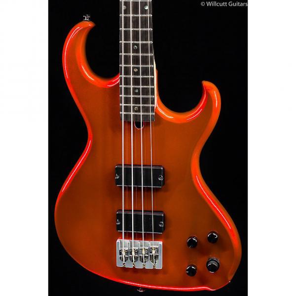Custom Rick Turner Electroline Bass 4-String Red Metallic (230) #1 image
