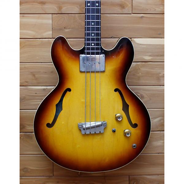 Custom Epiphone 1964 Rivoli EBV232 Model 4 String Electric Bass Guitar #1 image