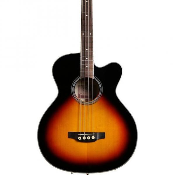 Custom Takamine GB72CE Jumbo Acoustic Electric Bass - Sunburst #1 image