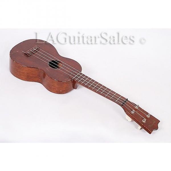 Custom Martin Vintage 1950's Style 0 Soprano Ukulele @ LA Guitar Sales - All Mahogany #1 image