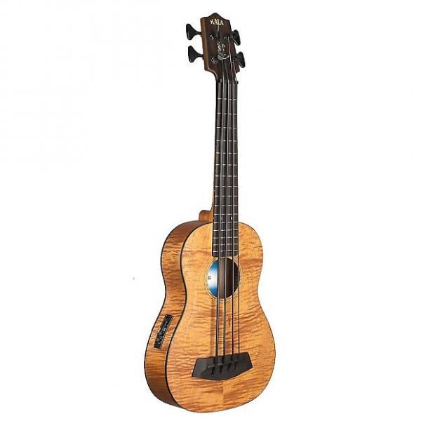 Custom Kala U-Bass - Exotic Mahogany, UBASS-EM-FSWBAG #1 image