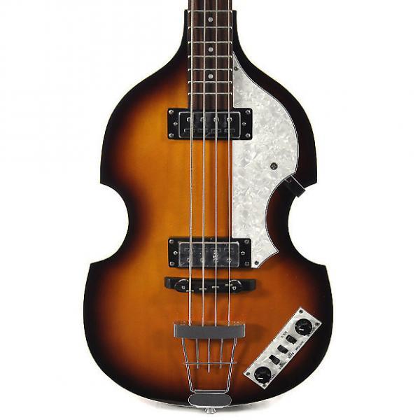 Custom Hofner Ignition Series Vintage Violin Beatle Bass Guitar W/Official Hofner Hard Case *(Right Handed) #1 image
