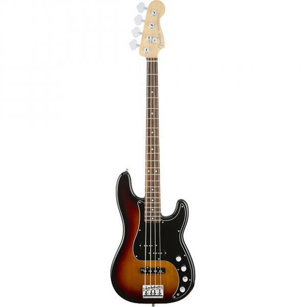 Custom Fender American Elite Precision Bass 3-Tone Sunburst w/ Case #1 image