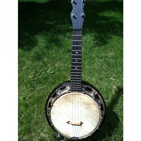 Custom Vintage Abbott Banjo Ukulele 1928 natural #1 image