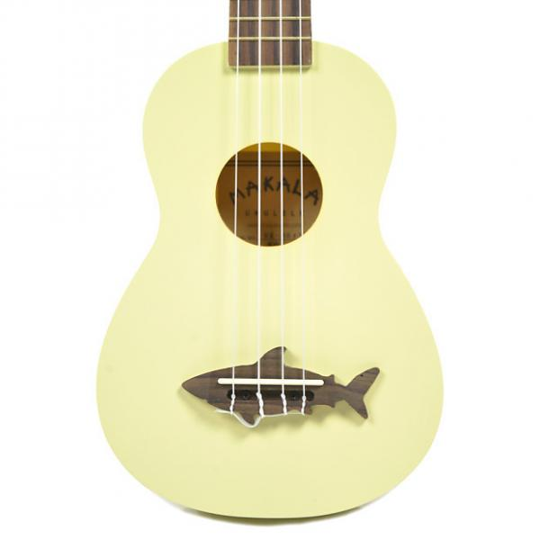 Custom Makala Shark Composite Soprano Ukulele Yellow #1 image