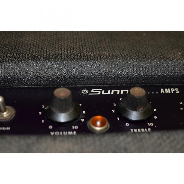 Custom Sunn Bass or Guitar Amp Amplifier + 2 JBL Cab Rare Collectable Vintage Model 240-C-60 circa 1966 #1 image