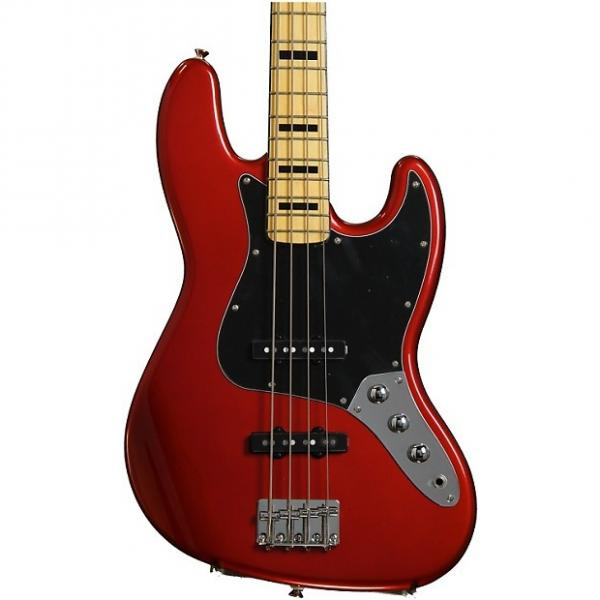 Custom Squier Vintage Modified Jazz Bass '70s - Candy Apple Red #1 image