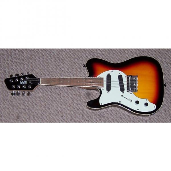 Custom Eastwood  Left Handed Mandocaster  3 Tone Sunburst #1 image
