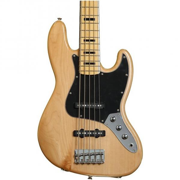 Custom Squier Vintage Modified Jazz Bass V - Natural #1 image