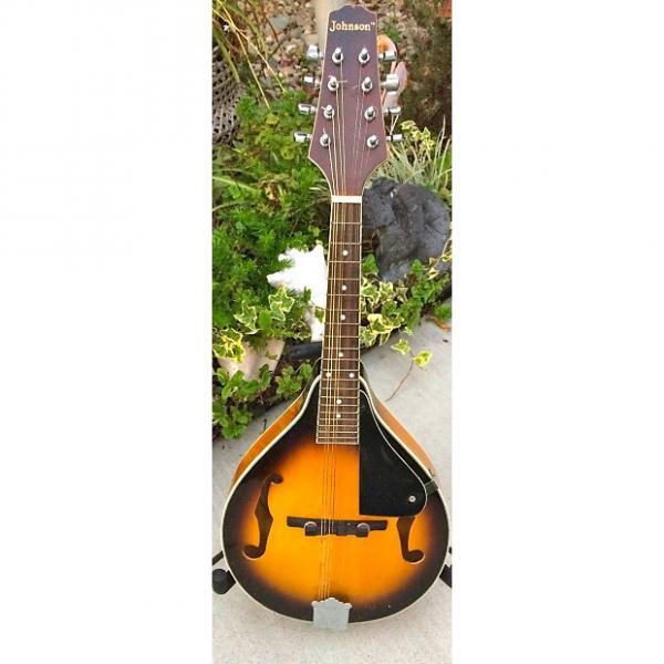 Custom Johnson M-100 Mandolin W/Case #1 image
