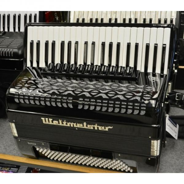 Custom Weltmeister Saphire Piano Accordion 2016 2016 Black #1 image