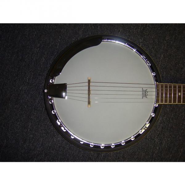 Custom Dean  Backwoods 6 Banjo 2016 chery #1 image