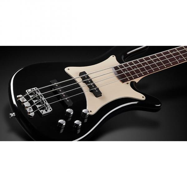 Custom Warwick WGPS Streamer CV 4 Black pas/pas ASH fretted w/ Bag, Free Shipping, Authorized Dealer #1 image