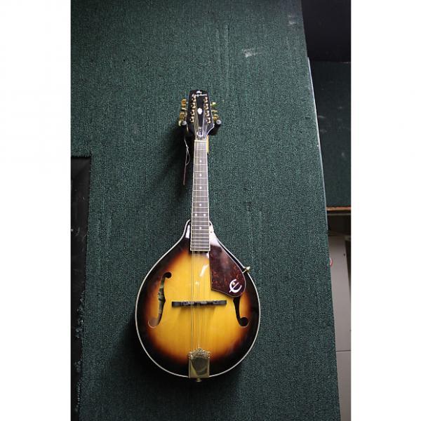 Custom The Epiphone MM-30E/AS Electric Mandolin 3 Tone Sunburst #1 image