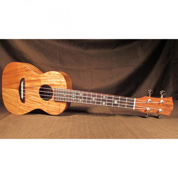 Custom Kaka'ako K1 Tenor Ukulele - Solid Acacia, Mother of Pearl Inlays, Professional #1 image
