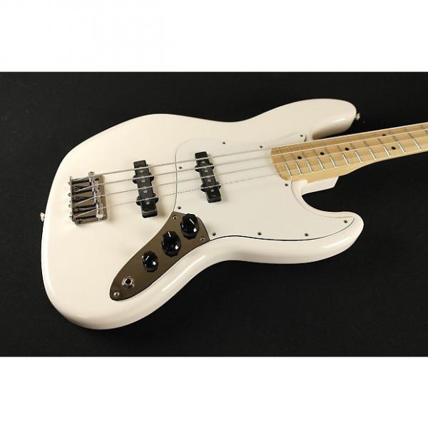Custom Fender Standard Jazz Bass Maple Fingerboard Arctic White 0146202580 (470) #1 image