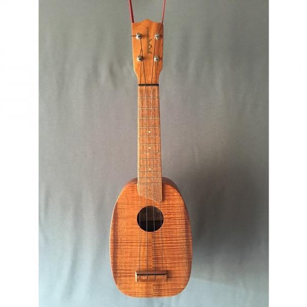 Custom Kamaka Pineapple Uke (Soprano) 70's era Natural (Koa) #1 image