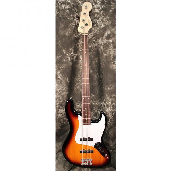 Custom 2016 Squier Affinity Series Jazz Bass Rosewood Fretboard - Sunburst #1 image