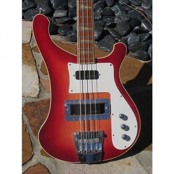 Custom Rickenbacker 4001 Bass 1975 Fireglo #1 image
