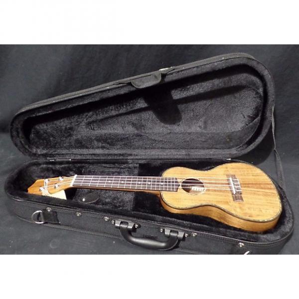 Custom Hilo 2955 Premier Concert Koa Ukulele with Case #51003 * #1 image