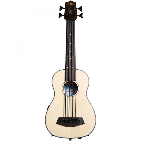 Custom Kala U-Bass - Spruce Top, Fretless #1 image