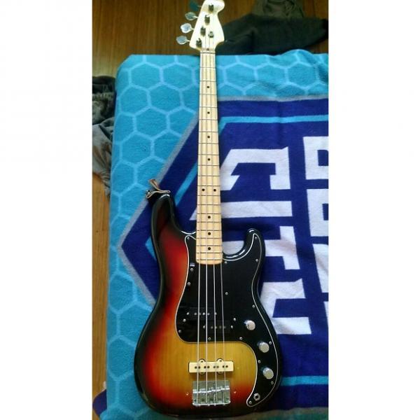 Custom Fender  P-Bass  1976  Sunburst #1 image
