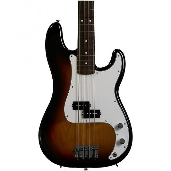 Custom Fender Standard Precision Bass - Brown Sunburst with Rosewood Fingerboard #1 image