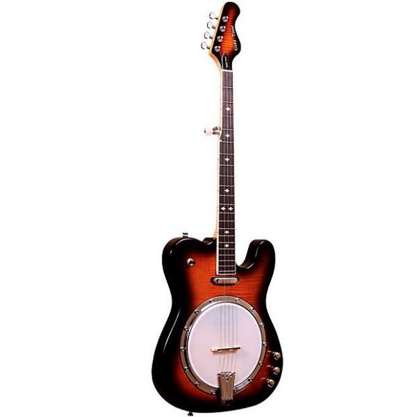 Custom Gold Tone EBT Electric Banjo 5-string with Tele Body #1 image