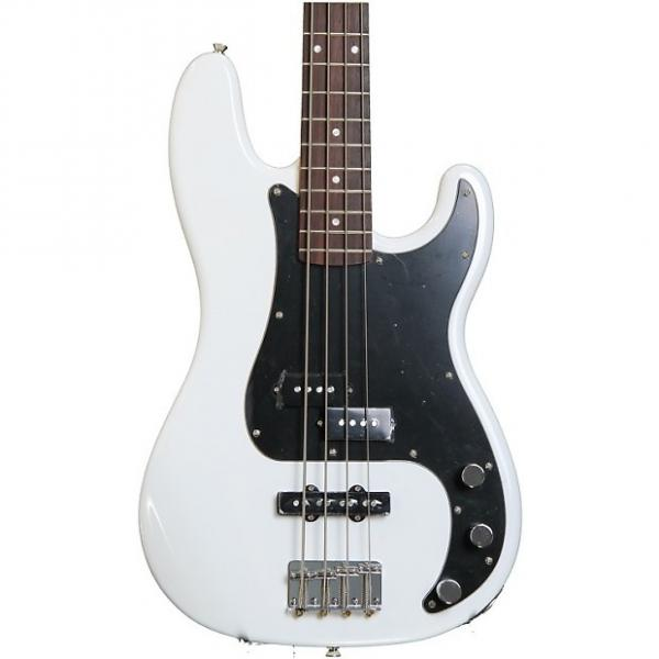 Custom Squier Affinity Series Precision Bass PJ - Olympic White #1 image