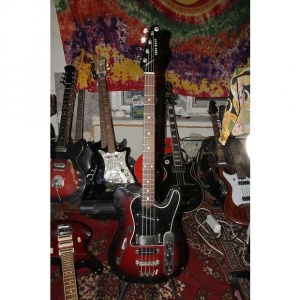 Custom Jolana Iris Rare Vintage Electric BASS Guitar 1975 Czech Short scale #1 image