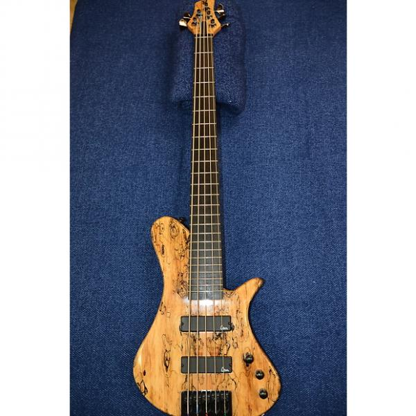 Custom Martin Keith Elfin 5-String Bass 2011 Spalted Maple #1 image