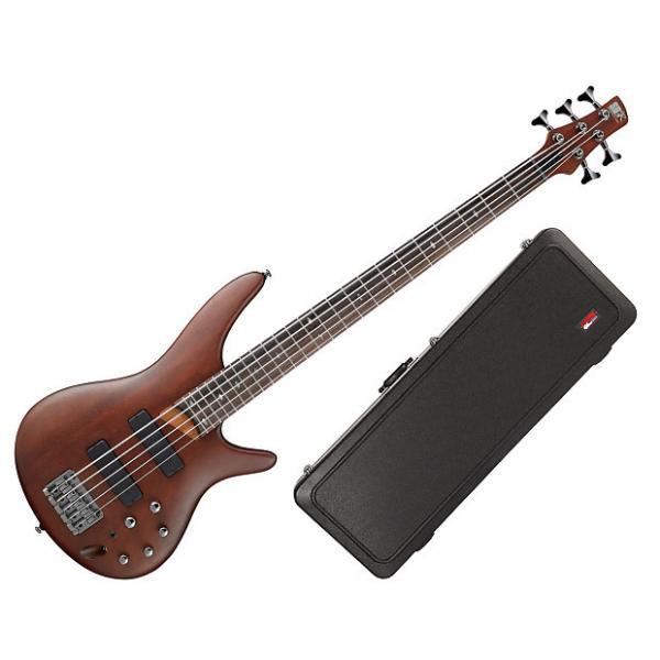 Custom Ibanez SR505 + Gator Cases GC-BASS - Deluxe Molded Case For Bass Guitars #1 image