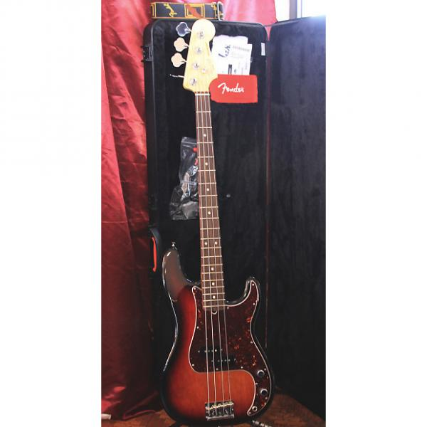Custom Fender American Standard Precision Bass 2015 Tobacco Sunburst #1 image