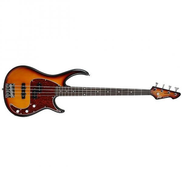 Custom Peavey Milestone 4-String Maple Neck Electric Bass Viintage Brown Sunburst #1 image
