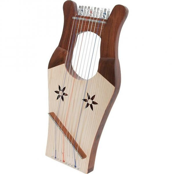 Custom Mid East Mini Kinnor Harp HKNM-L  2-Day Delivery #1 image