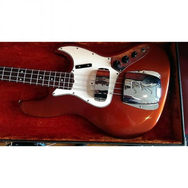Custom Fender Jazz Bass 1965 Candy Apple Red #1 image