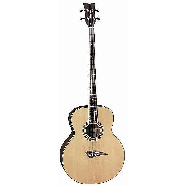 Custom Dean Playmate EAB 4-String Acoustic-Electric Bass Guitar - Natural #1 image
