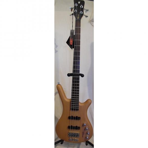 Custom Warwick Rockbass Corvette Classic 4-String Electric Bass Natural (blem) #1 image