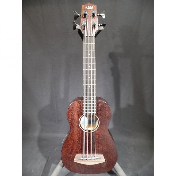 Custom Kala RUMBLER U-Bass UBASS-RMBL-FS Fretted Acoustic Ukulele Bass Guitar #1 image