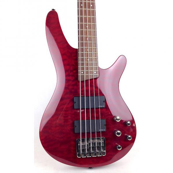 Custom Ibanez SR505 Bass Cherry Red (Used) #1 image