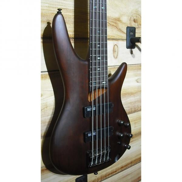 Custom New Ibanez SR505 5 String Electric Bass Brown Mahogany #1 image