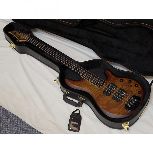 Custom Traben Chaos Attack 4-string BASS guitar Granite NEW w/ CASE - Rockfield pickups #1 image