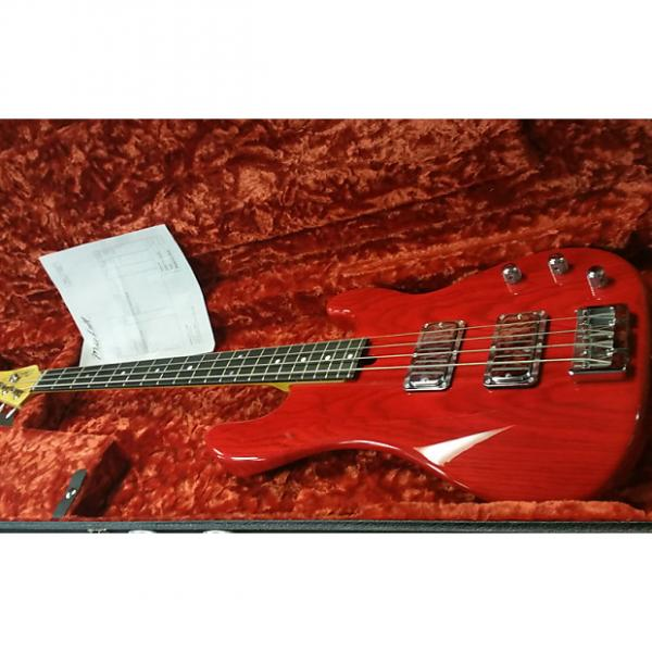 Custom Mike Lull  P body with Thunderbird Lull pickups trans red #1 image
