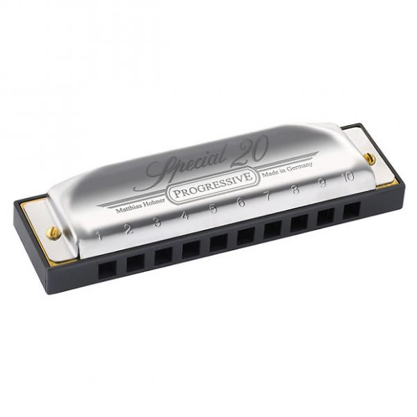 Custom Hohner Progressive Series Special 20 Harmonica In Key Of C #1 image