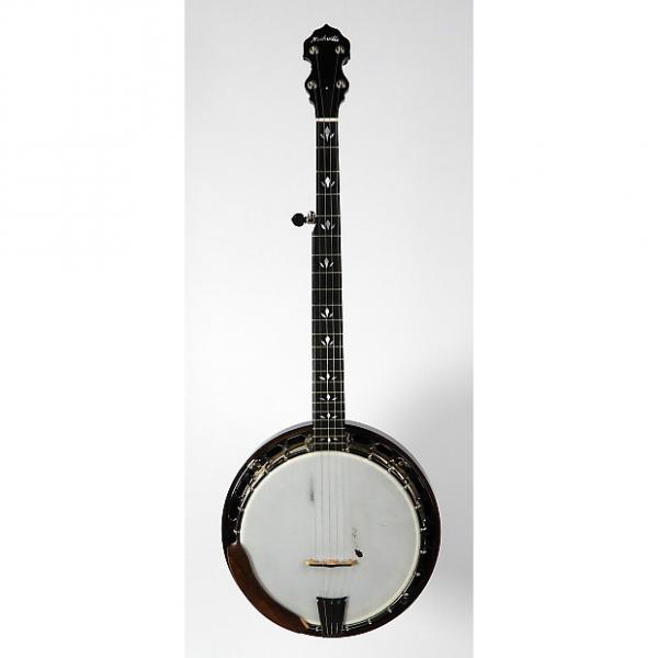 Custom Nechville Flex-Tone Banjo w/ OHSC 2015 Flame Maple #1 image