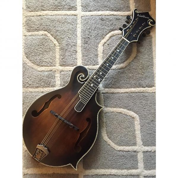 Custom Wasburn M118-SWK F Style Mandolin #1 image
