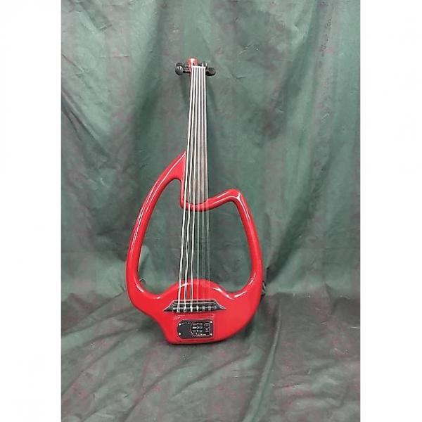 Custom Mid-East Electric Oud In Red. #1 image